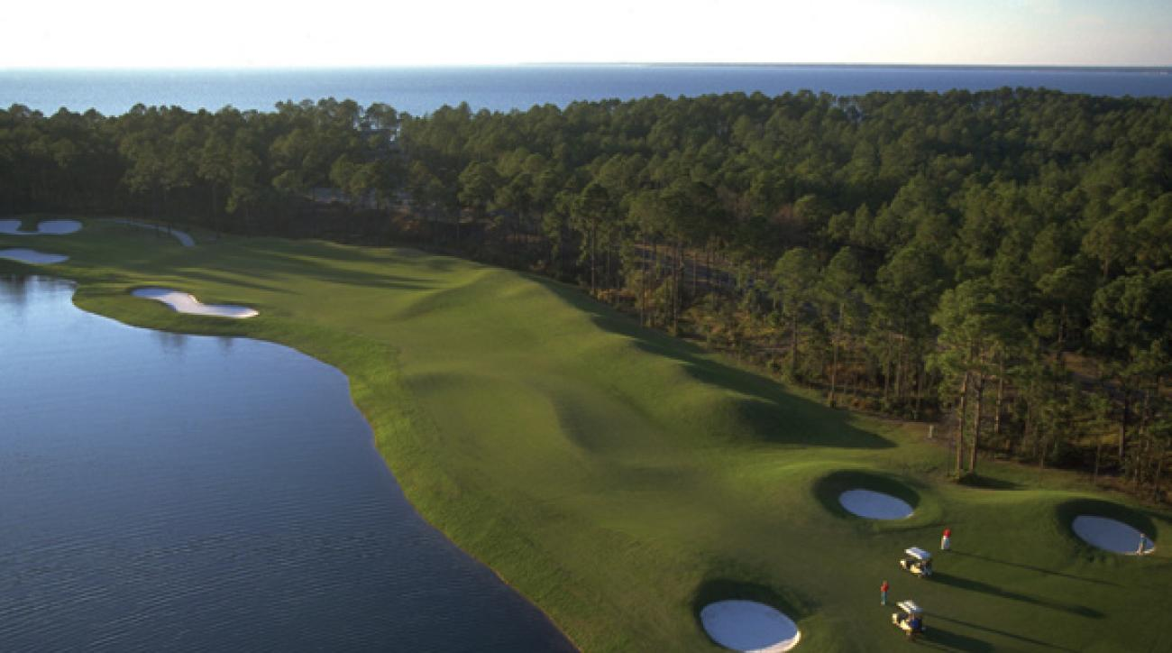 Destin, Fla.                 Green fees: $65-$155                 850-267-8000, sandestin.comSwing into Sandestin Golf & Beach Resort, one of the top golf resorts in the country, rated by GOLF Magazine. Experience four nationally acclaimed championship courses and many complimentary amenities. As an added bonus, get a FREE night with the purchase of three this spring.                                                                     Sandestin Golf & Beach Resort                 Destin, Fla.                 Green fees: $65-$155                 850-267-8000, sandestin.com