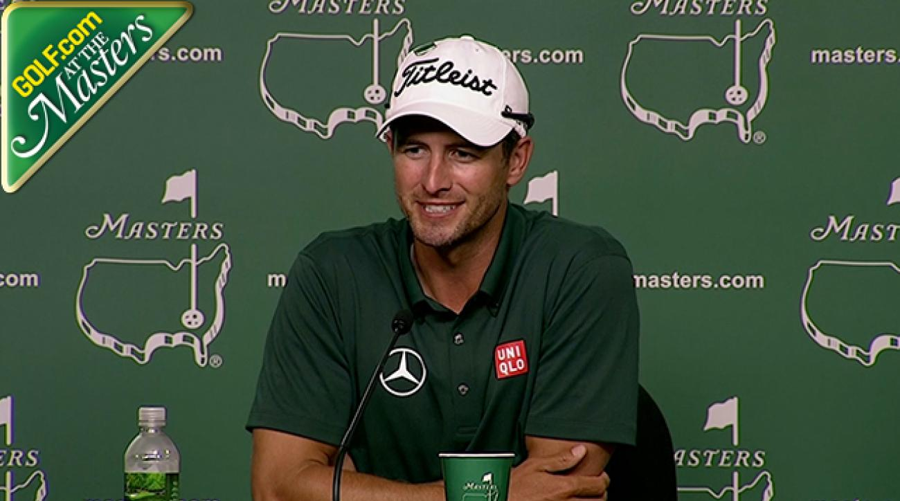 Masters 2014: Adam Scott Says He Feels Comfortable At Augusta After Last Year's Win