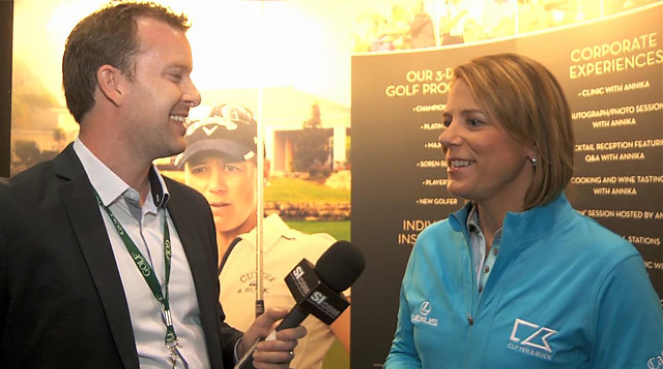 Annika Sorenstam at PGA Merchandise Show