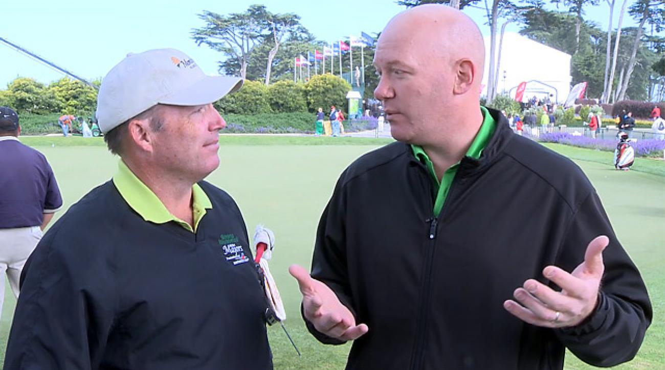 David Dusek and Gary Van Sickle Thursday mid-day report at U.S. Open