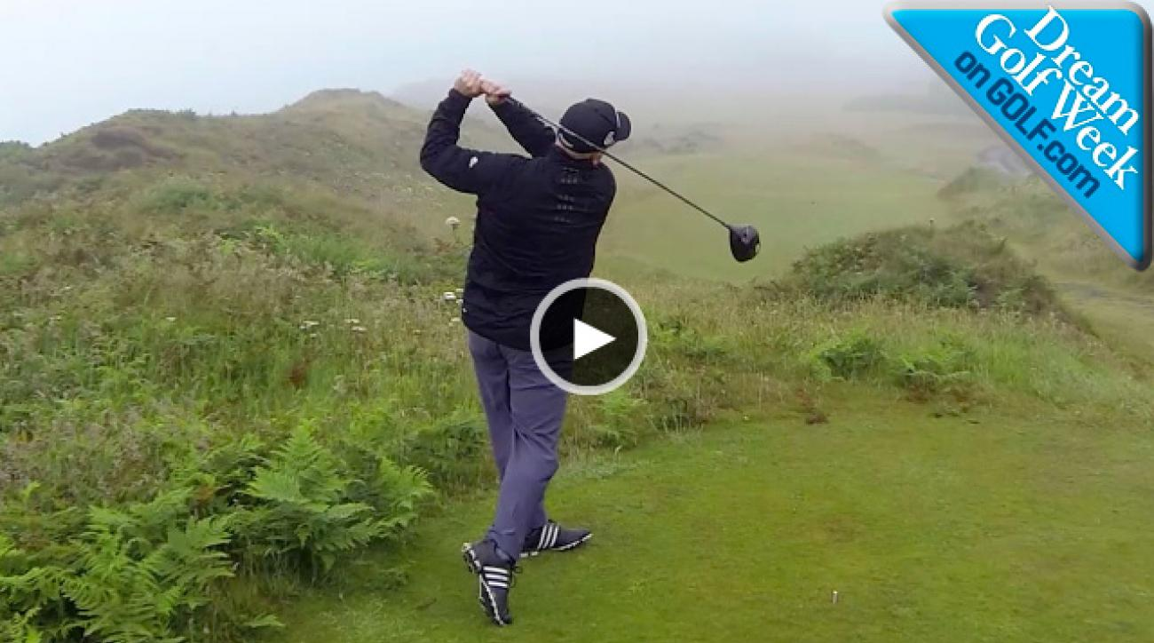Links Golf Tip: How to Keep Your Drive Low on a Windy Links Course