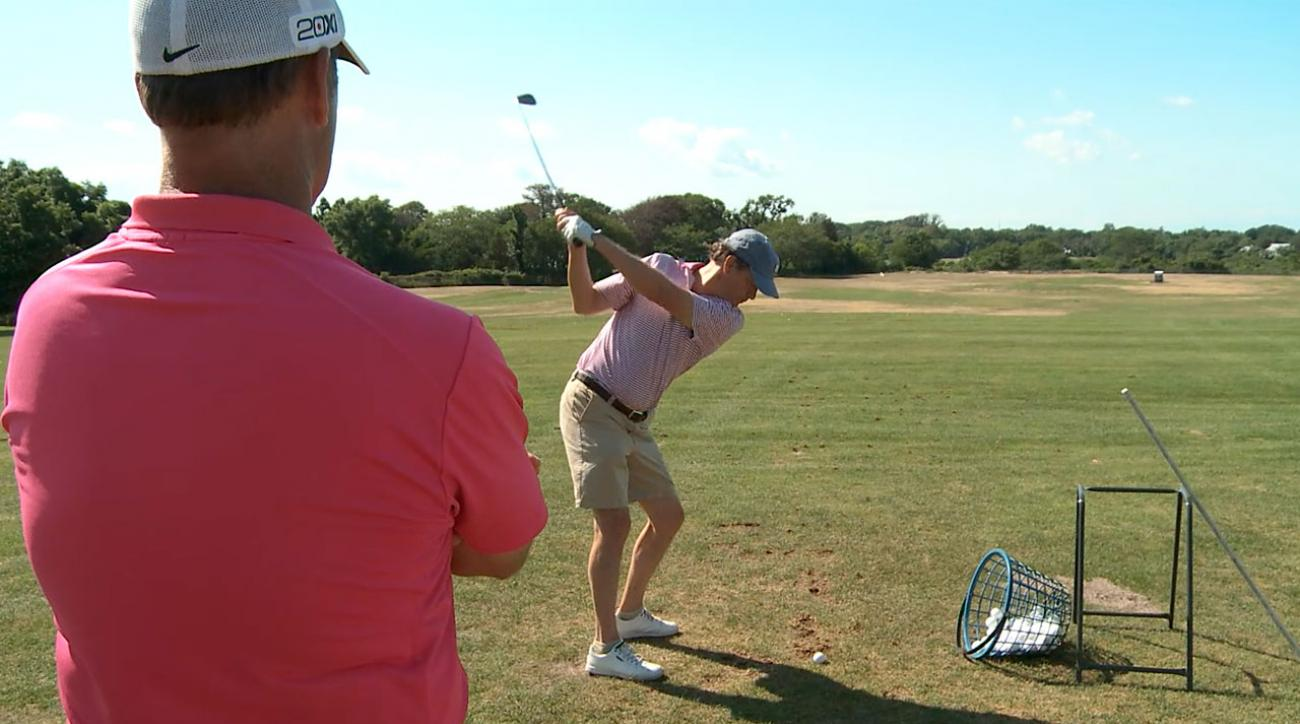 Swing Academy: Go Low for a Reliable Shot Under Pressure