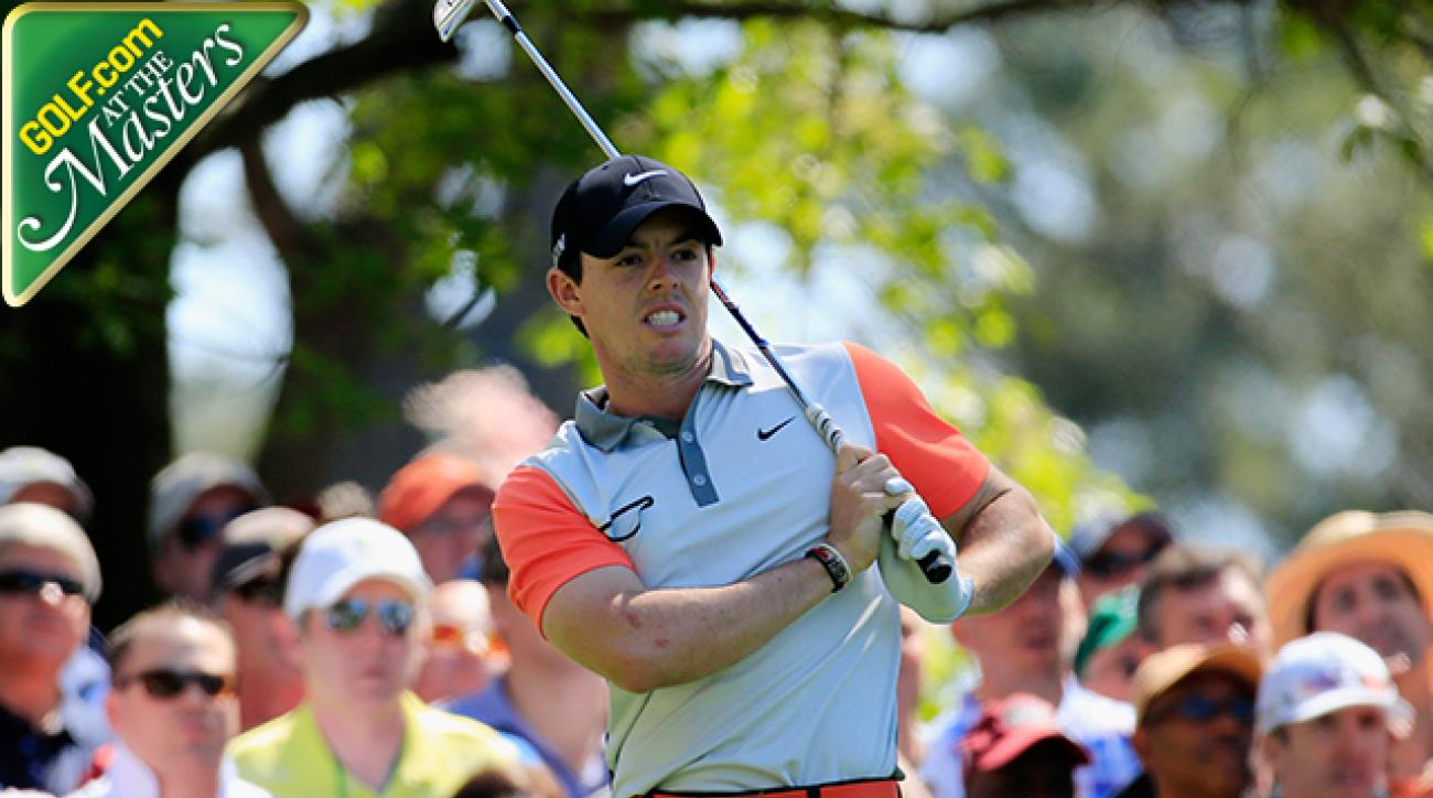 Masters 2014: Rory McIlroy Happy to Escape Under Par