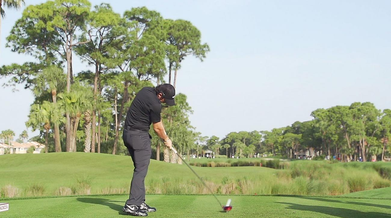 Rory McIlroy's Swing In Pure Slow Motion: Driver