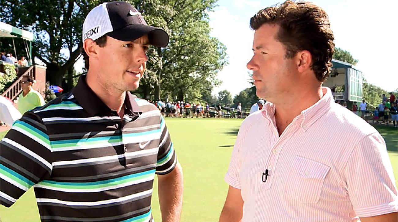 McIlroy on Round 3, and his chances on Sunday