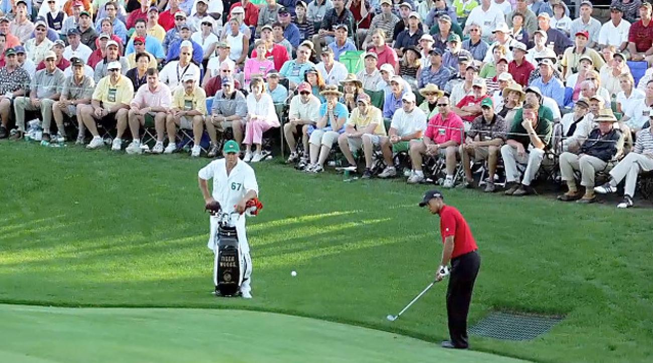 Greatest Masters Shots: How to hit Tiger's chip from 2005