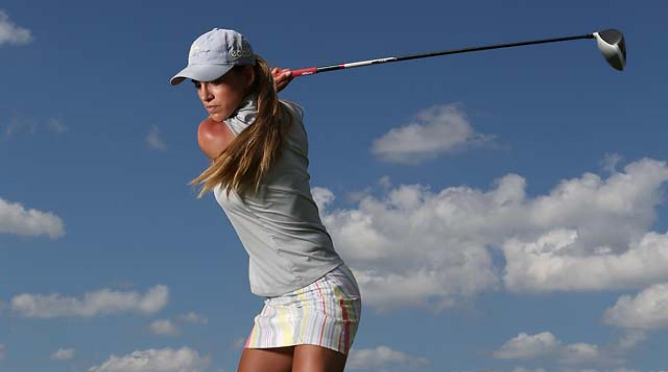 Hot Tip From A Hot Golfer: LPGA's Belen Mozo on How to Split the Fairway With Your Drives