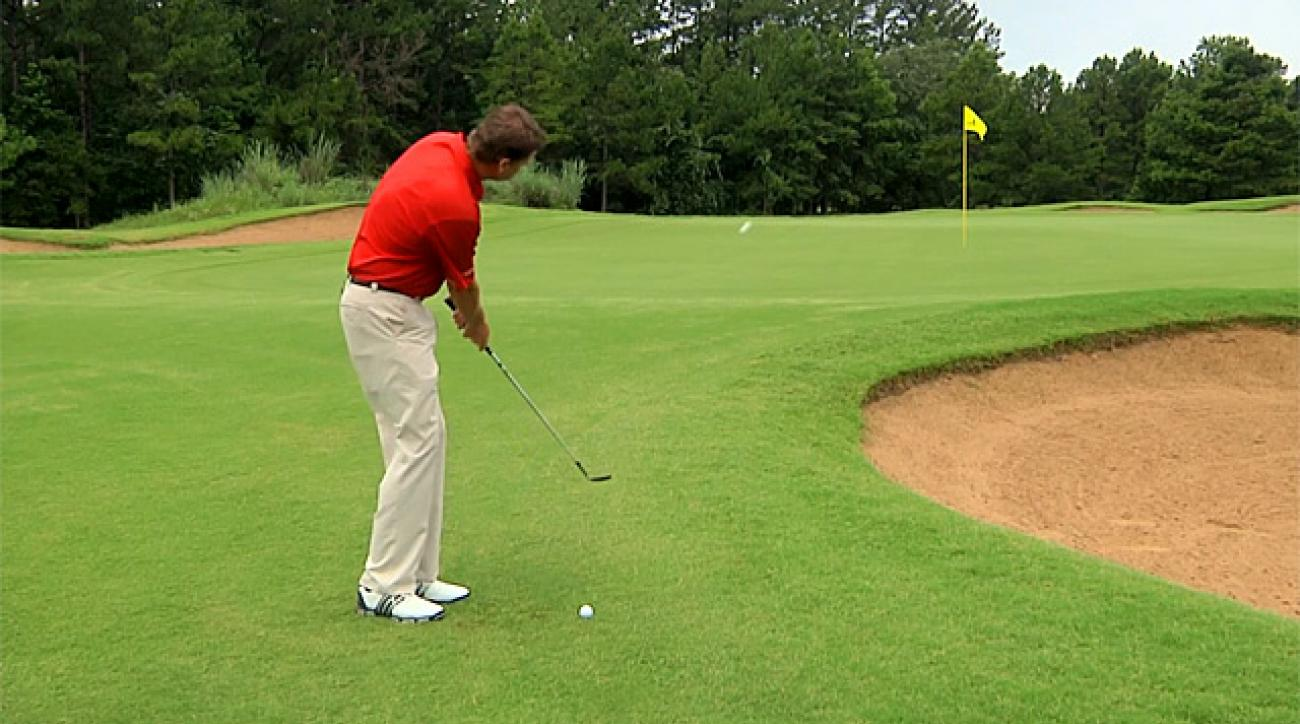 Hump Day Tip: Right Hand Key to Good Chipping