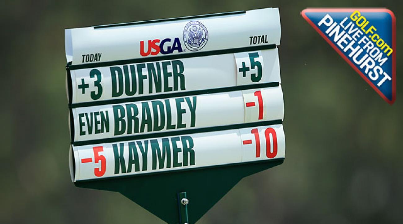Golf.com Live From Pinehurst! Martin Kaymer Seizes U.S. Open Lead -- Is It Over?