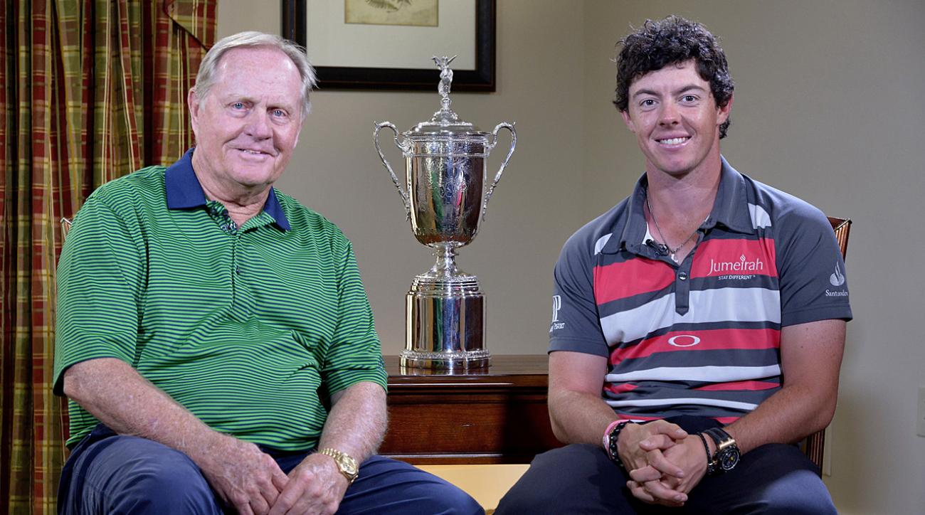 Jack Nicklaus discusses Rory McIlroy