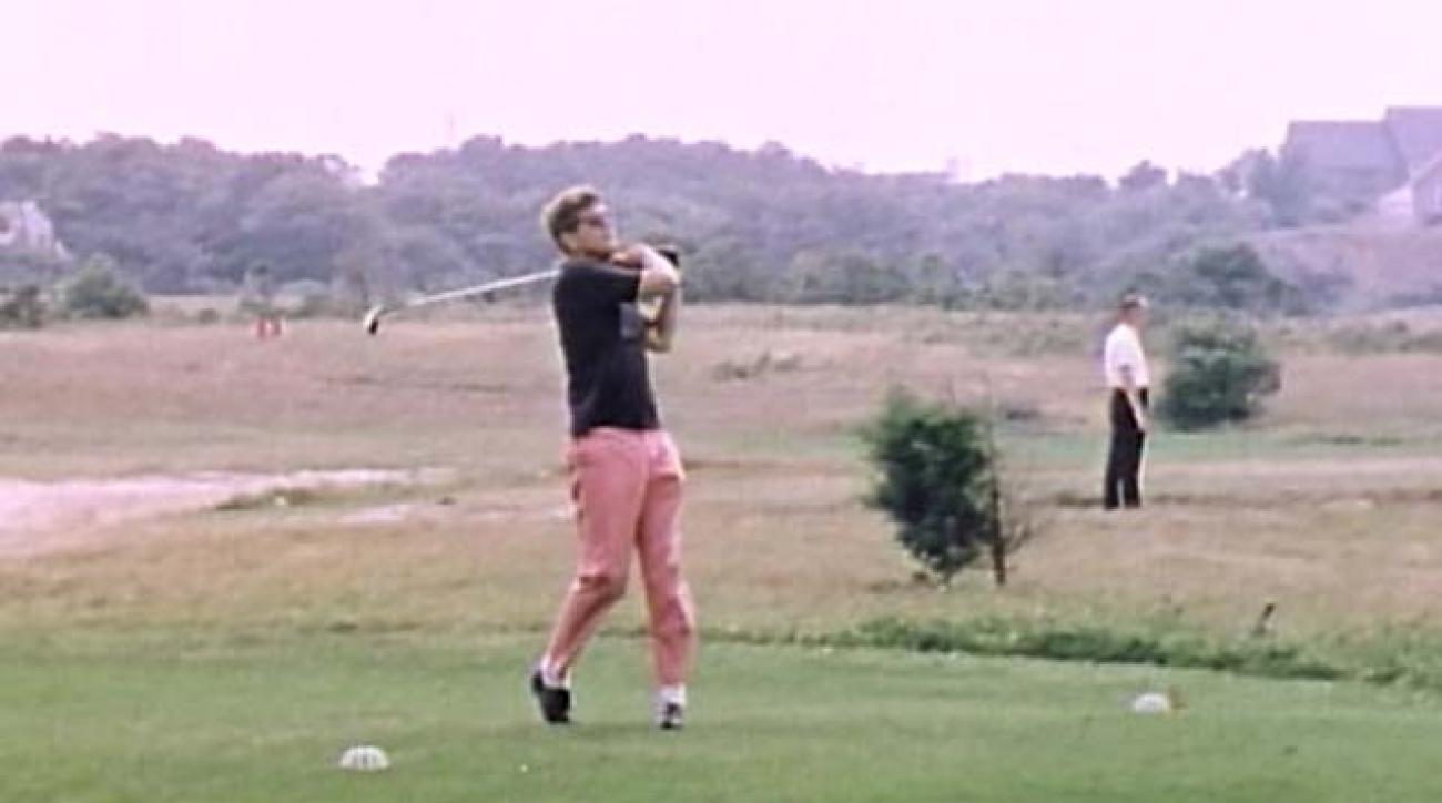John F. Kennedy's Golf Swing