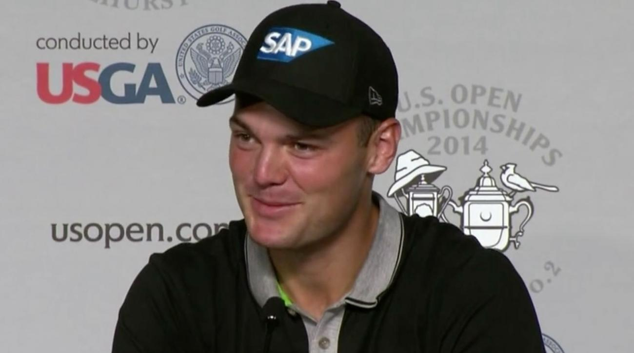 Martin Kaymer Leads U.S. Open But He's An Afterthought In His Native Germany