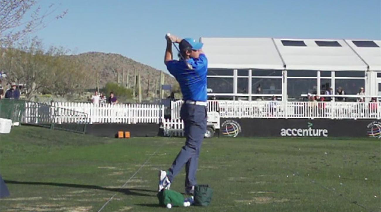 Rory McIlroy's Swing In Slow Motion
