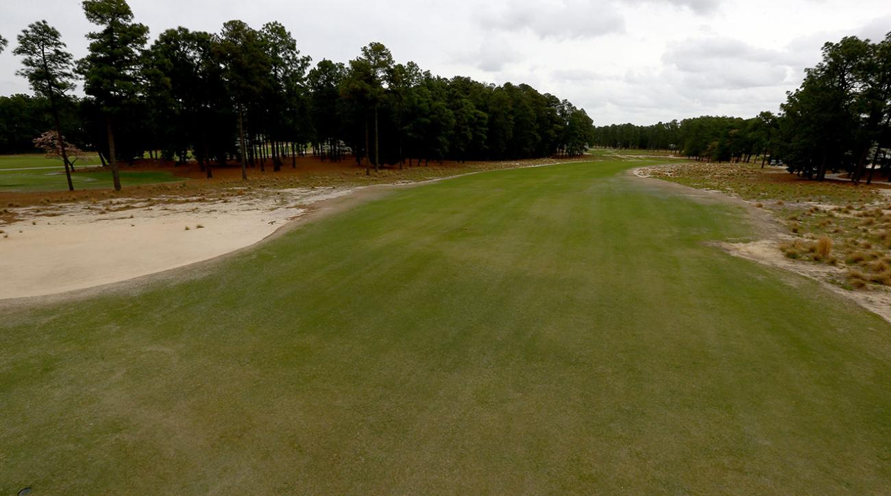 Lack of Rough at Pinehurst No. 2 Makes Brown the New Green