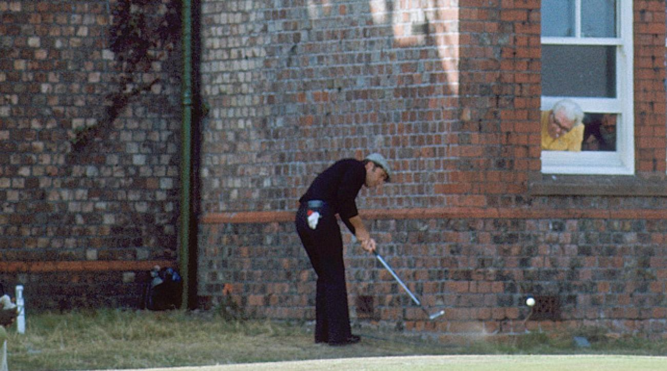 Gary Player's left-handed putt defined 1974 British Open at Royal Lytham