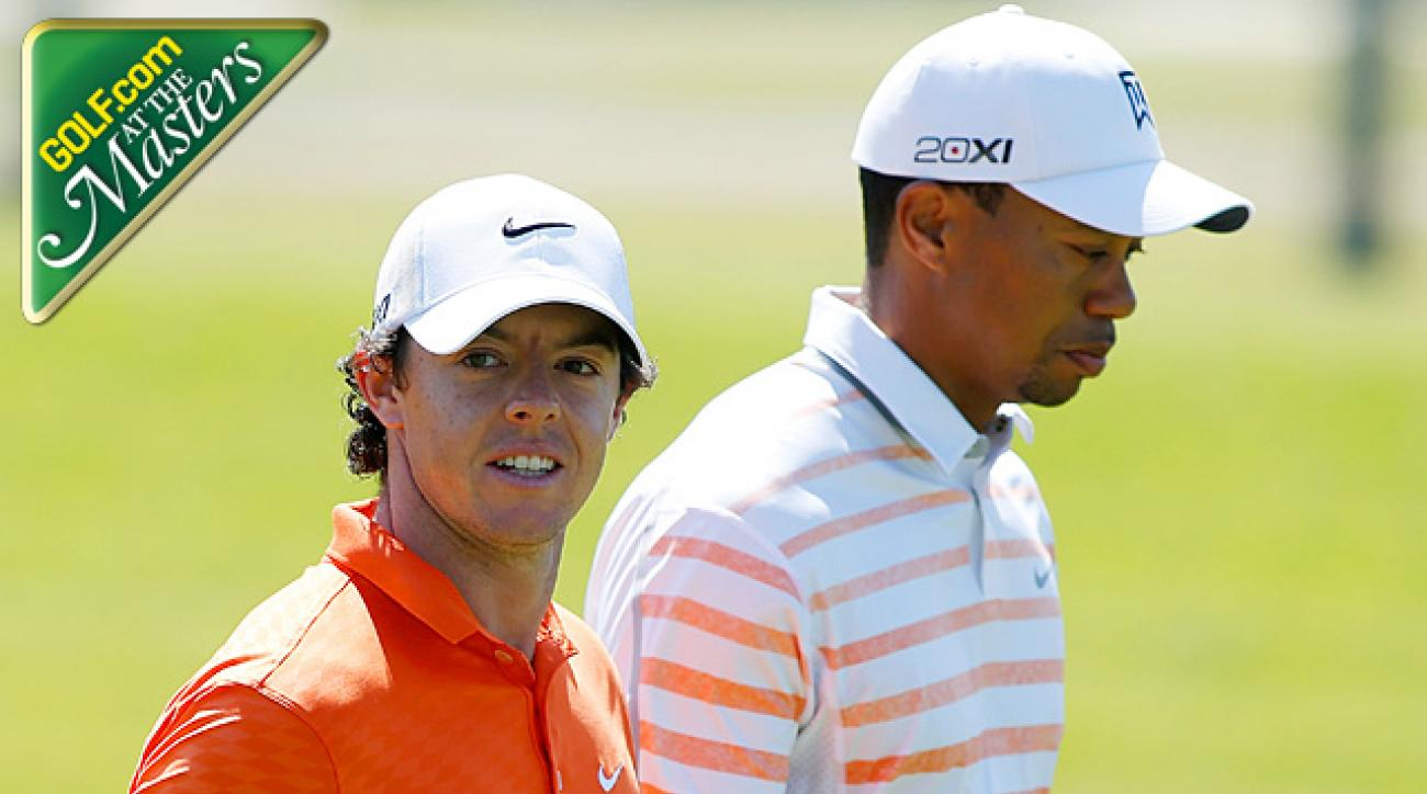McIlroy and the likes of Luke Donald, Justin Rose should challenge Tiger Woods at 2013 Masters
