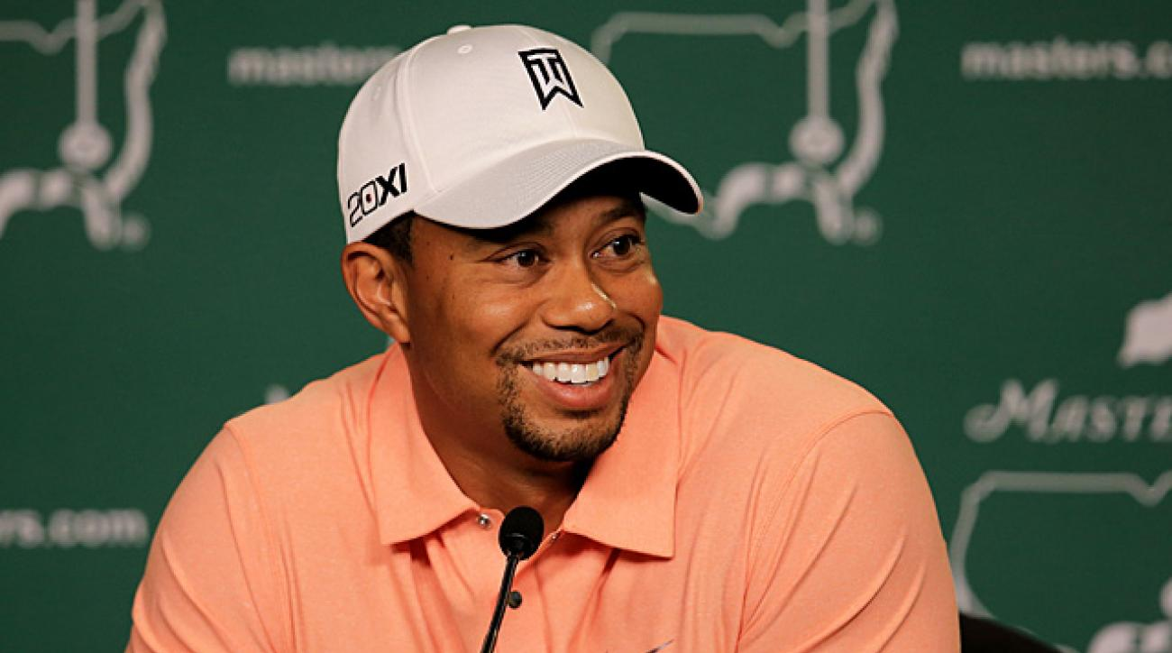 Tiger Woods hopes for firm, fast conditions at Augusta National