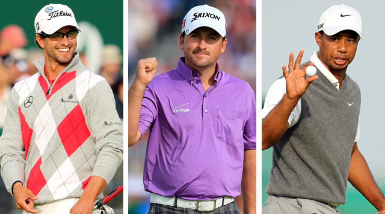 Adam Scott, Tiger Woods and the big storylines heading into the final round