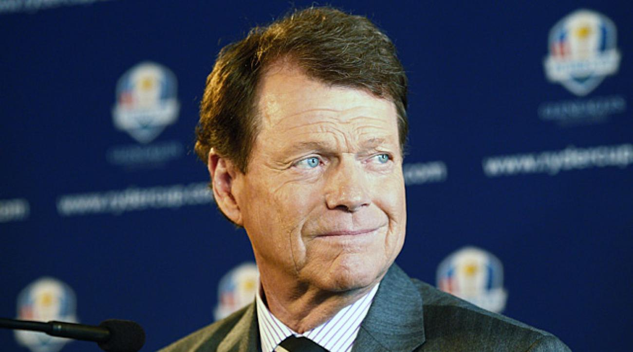 Tom Watson returns as Ryder Cup captain