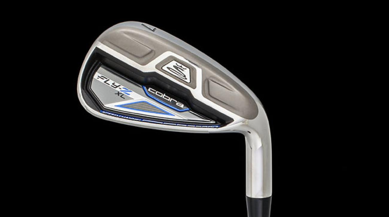 Cobra's Fly-Z XL irons feature a dual hollow cavity design and a lower, deeper CG