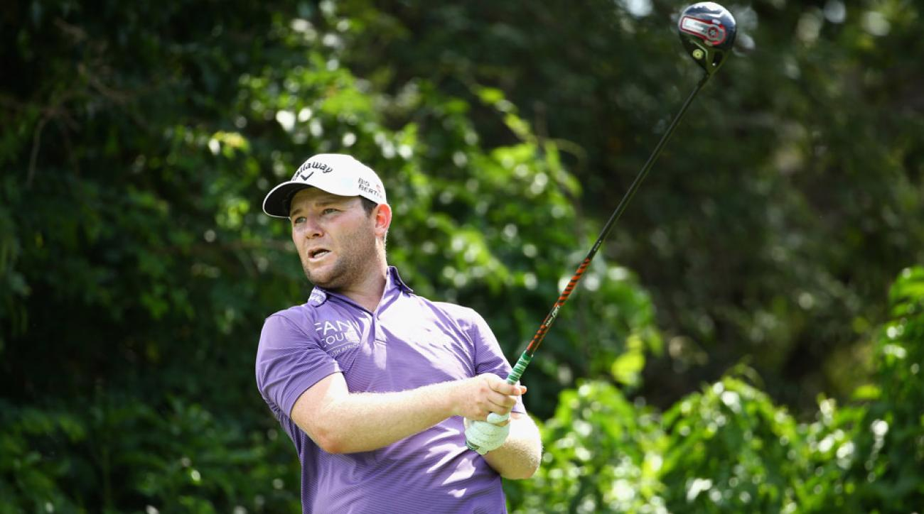 Branden Grace won the Alfred Dunhill by seven shots.