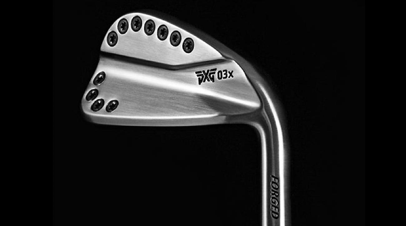 A prototype iron from Parsons Xtreme Golf.
