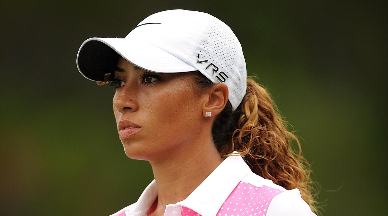 Cheyenne Woods during day four of the 2014 Ladies Masters.