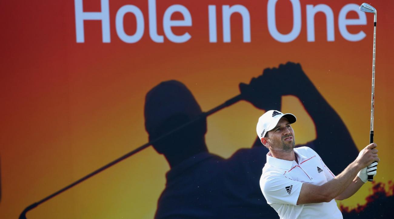 Sergio Garcia is looking to defend his title this week at the Qatar Masters.