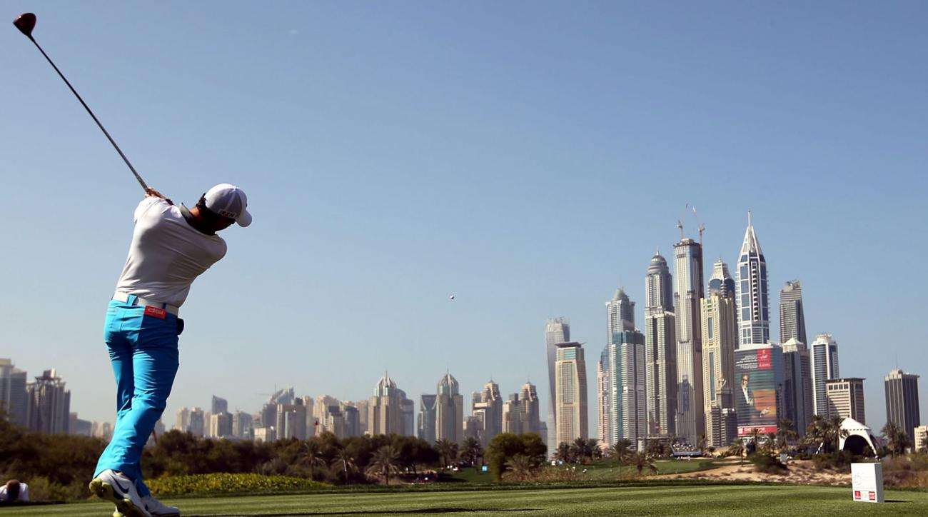 World No. 1 Rory McIlroy is back this week in the Omega Dubai Desert Classic.
