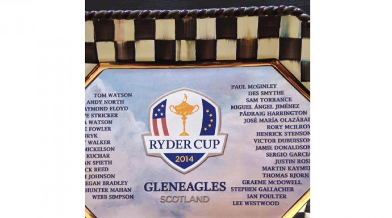 The PGA of America added an extra letter each to both Henrik Stenson's and Des Smyth's names.