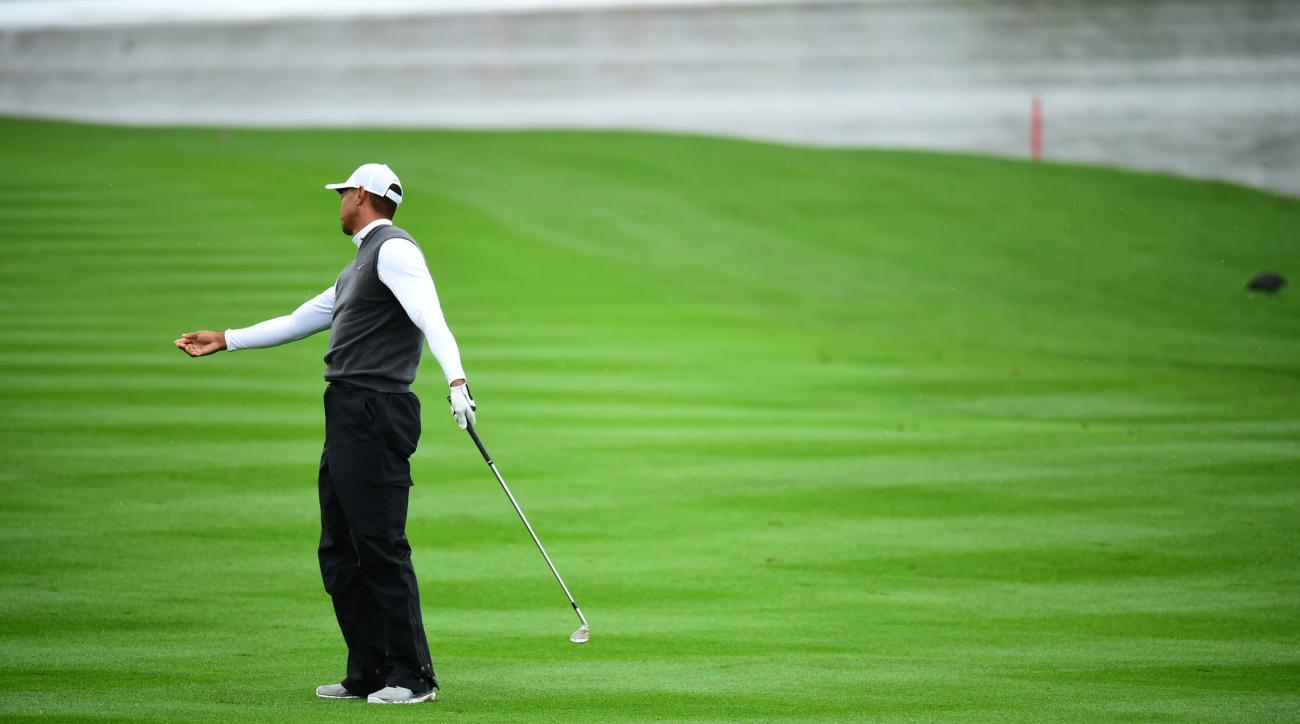 Tiger Woods bottomed out in Phoenix with a blunder-filled 82 on Friday.