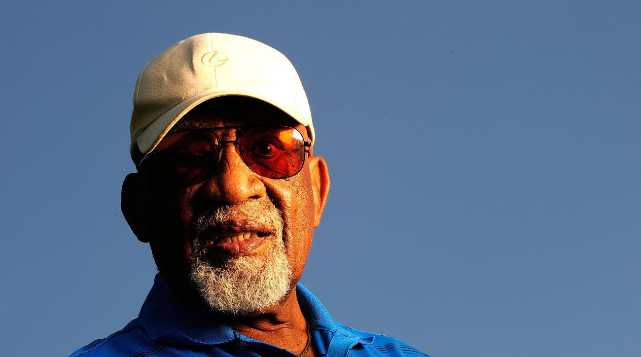 Charlie Sifford, seen here in 2009, was the first African American to play on the PGA Tour.
