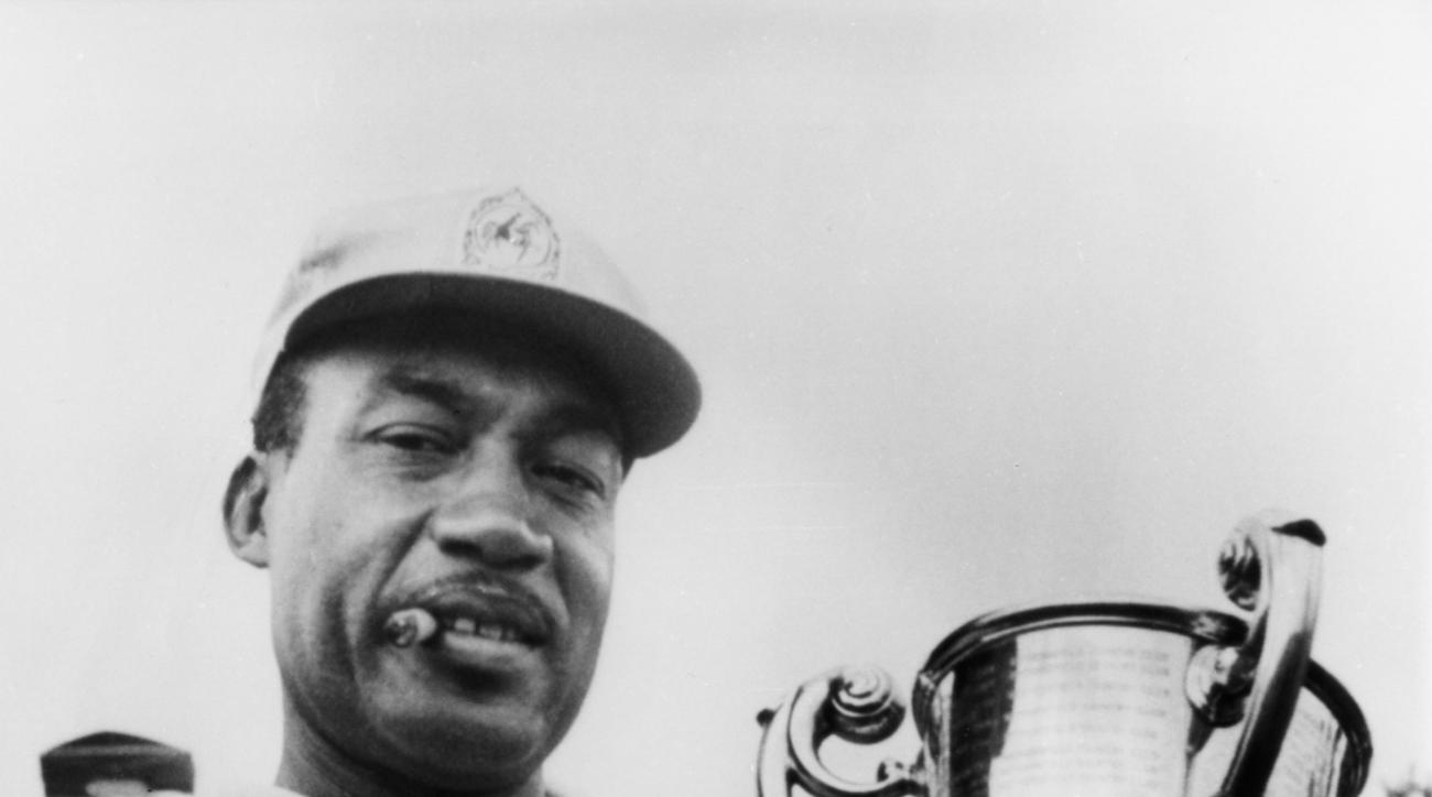 Cigar ever present, Sifford broke through in Hartford in '67 -- the first Tour victory by an African–American.