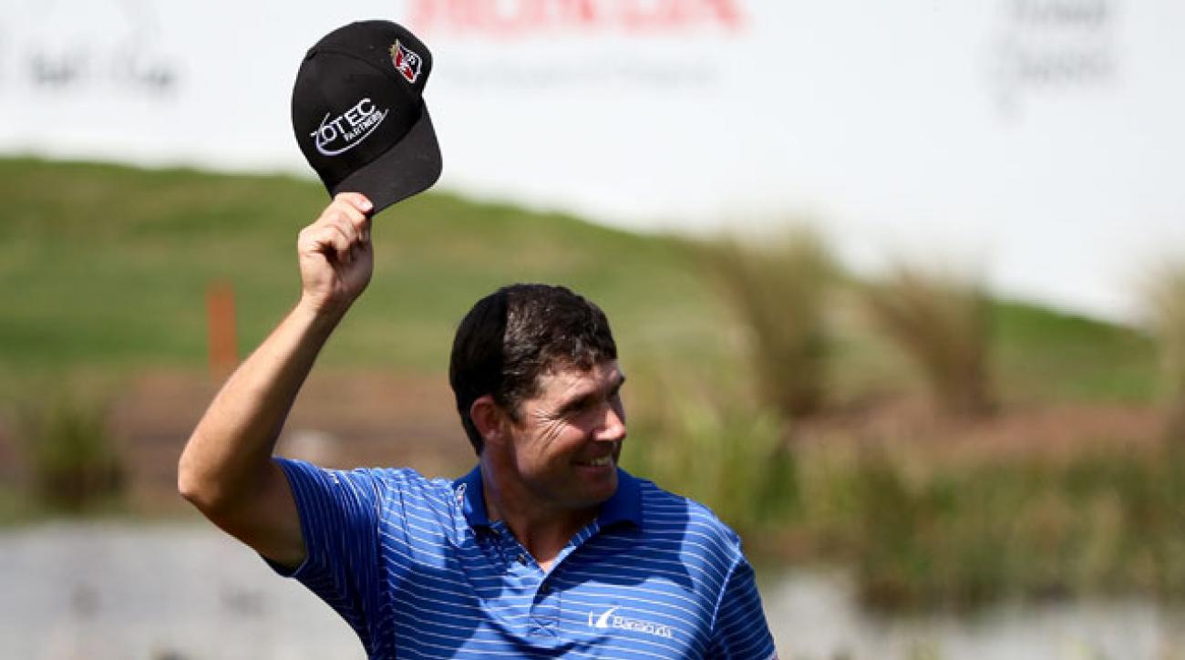 Padraig Harrington won his first PGA Tour tournament since the 2008 PGA Championship.