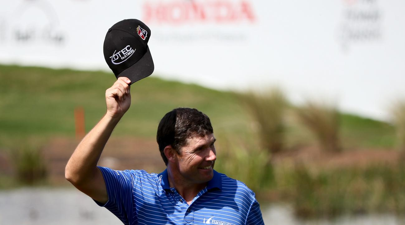 Padraig Harrington defeated Daniel Berger in a playoff to win the 2015 Honda Classic at PGA National.