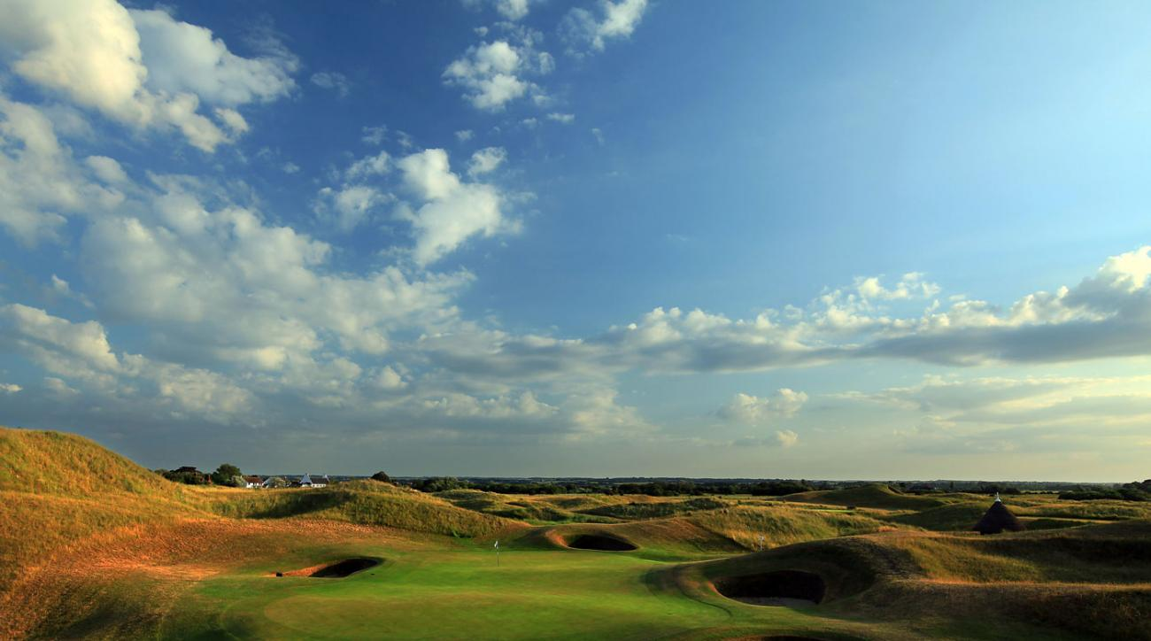 The par-3 sixth hole at Royal St. George's.