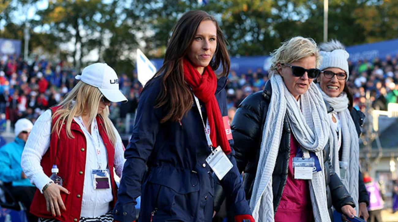 Erin Walker during the 2014 Ryder Cup.