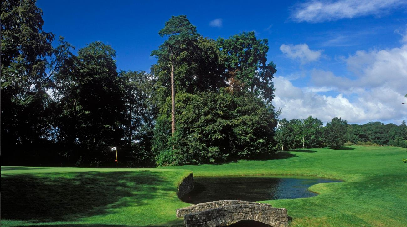The 13th hole at Mount Juliet Golf Course in Co. Kilkenny, Ireland.