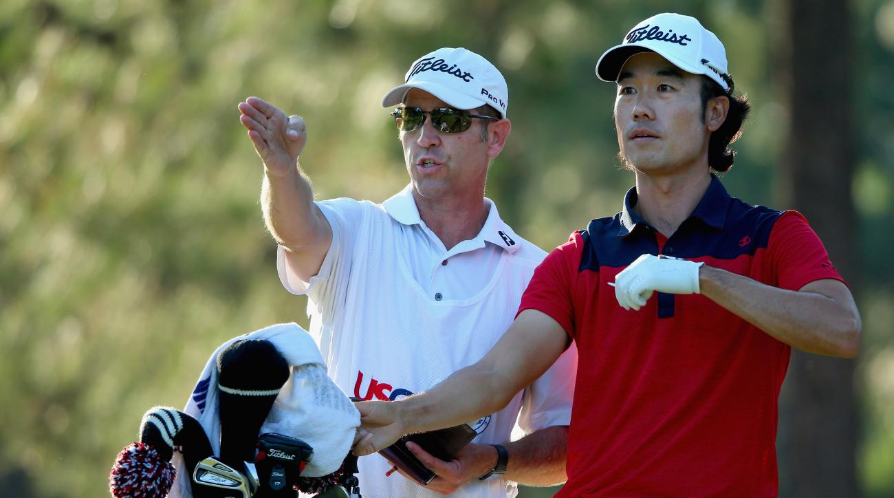 Kenny Harms has caddied for Kevin Na since 2008.