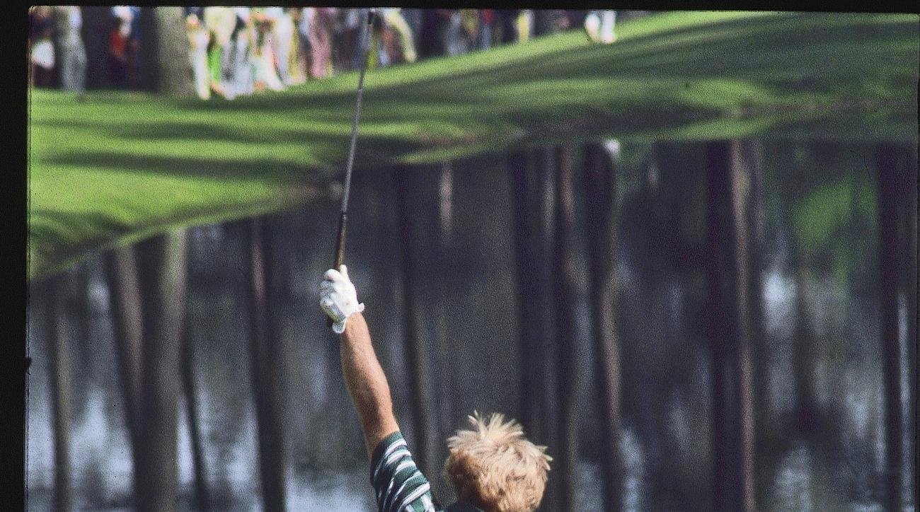 Nicklaus celebrated his unlikely birdie at 16, and the rest is history.