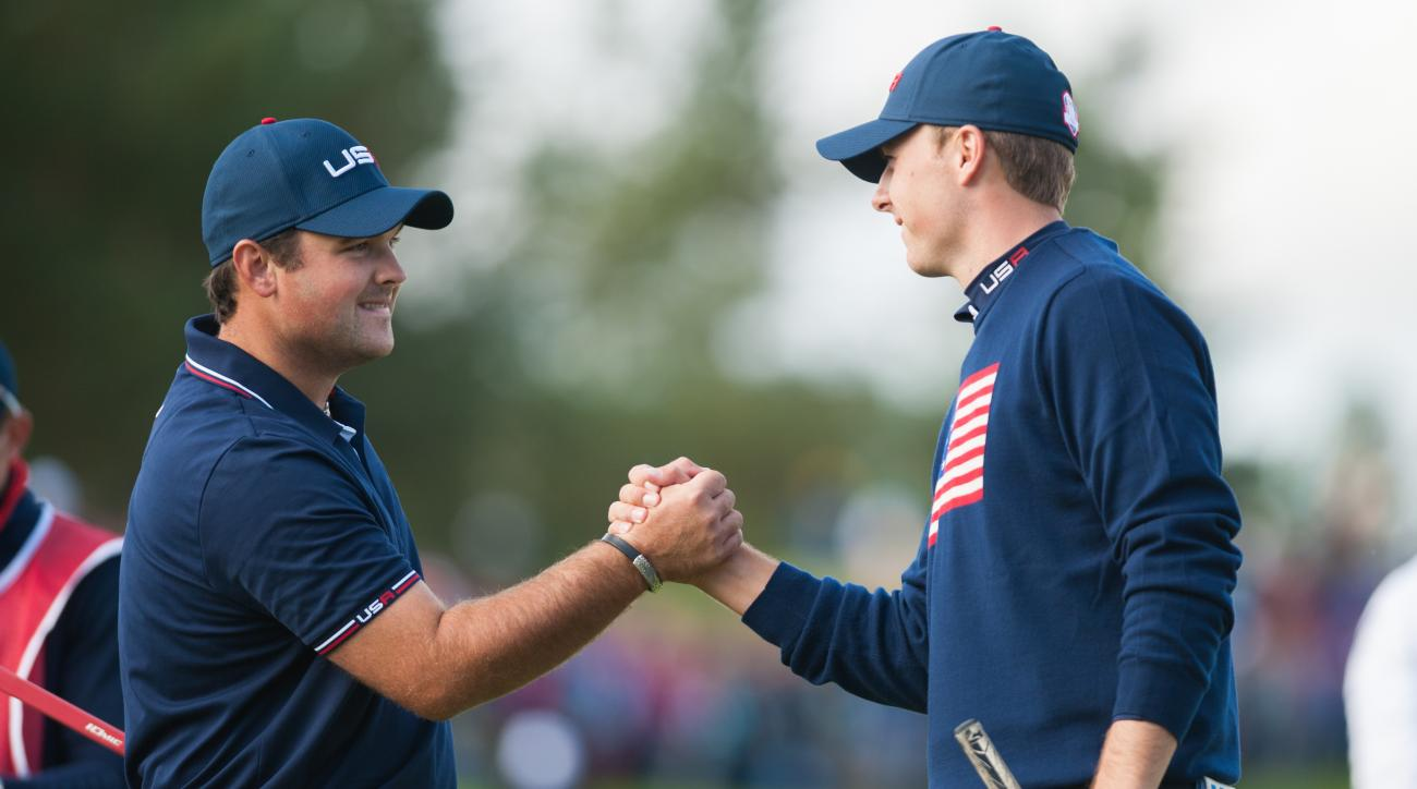 Reed and Spieth were unbeatable as a team in the Ryder Cup, going 2-0-1 against the Europeans.