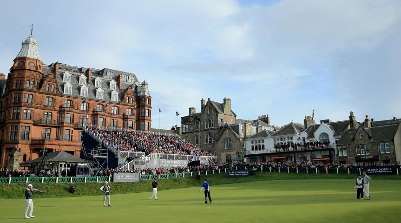 The Old Course at St. Andrews, shown here in 2014, will feature more seating for this year's Open Championship.