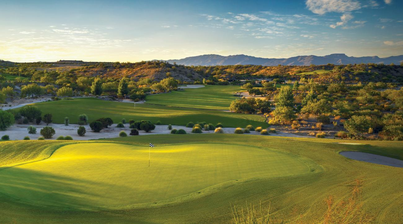 If you like gorgeous terrain and great golf, you'll strike it rich at Wickenburg Ranch.