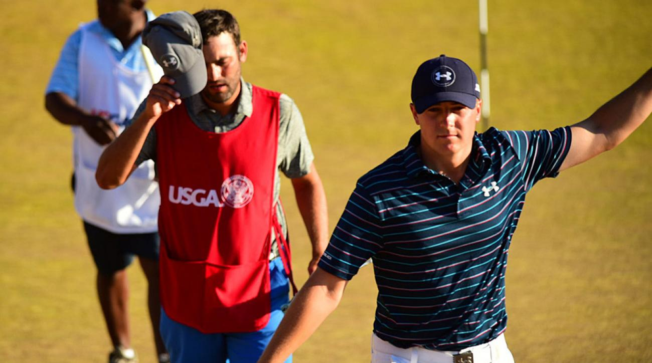 Jordan Spieth after finishing the final round.