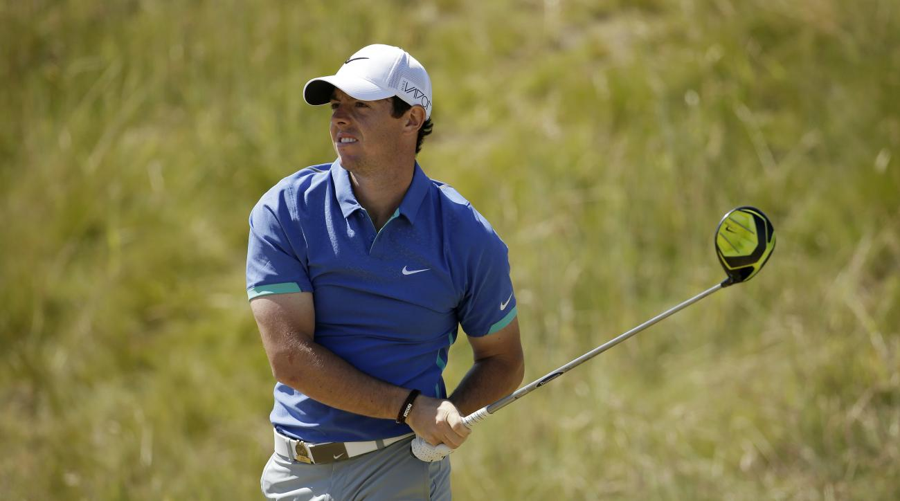 Rory McIlroy during the third round of the U.S. Open. McIlroy won last year's British Open.