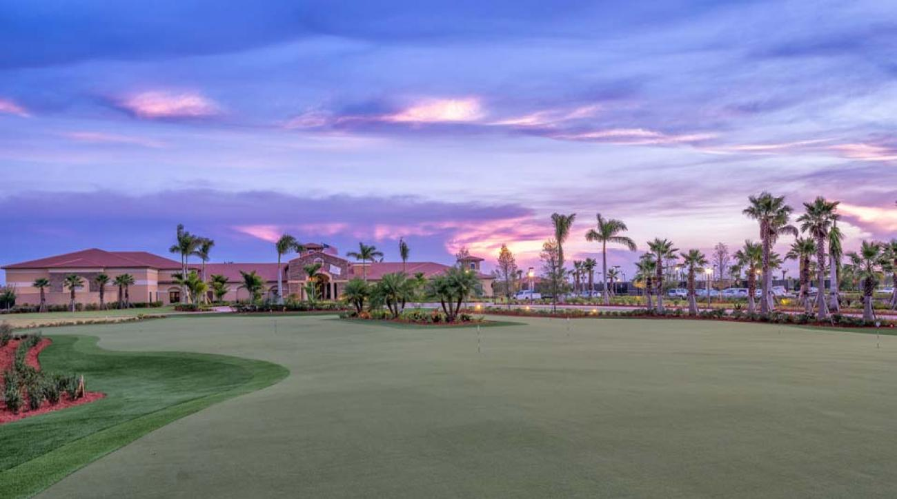 The Vitalia at Tradition, in Port St. Lucie, Florida, boasts what is being hailed as the largest synthetic putting surface in the United States, perhaps the world.