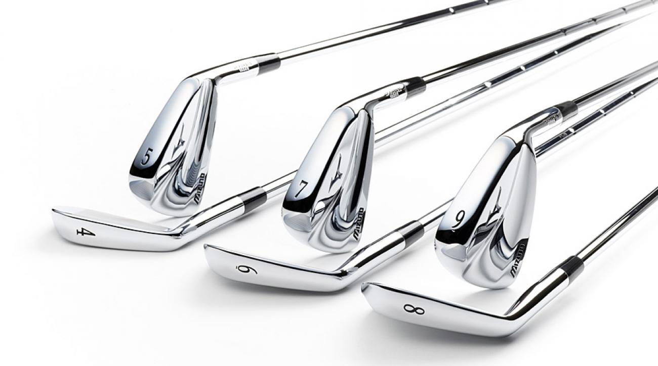 Some of Mizuno Golf's newest irons.