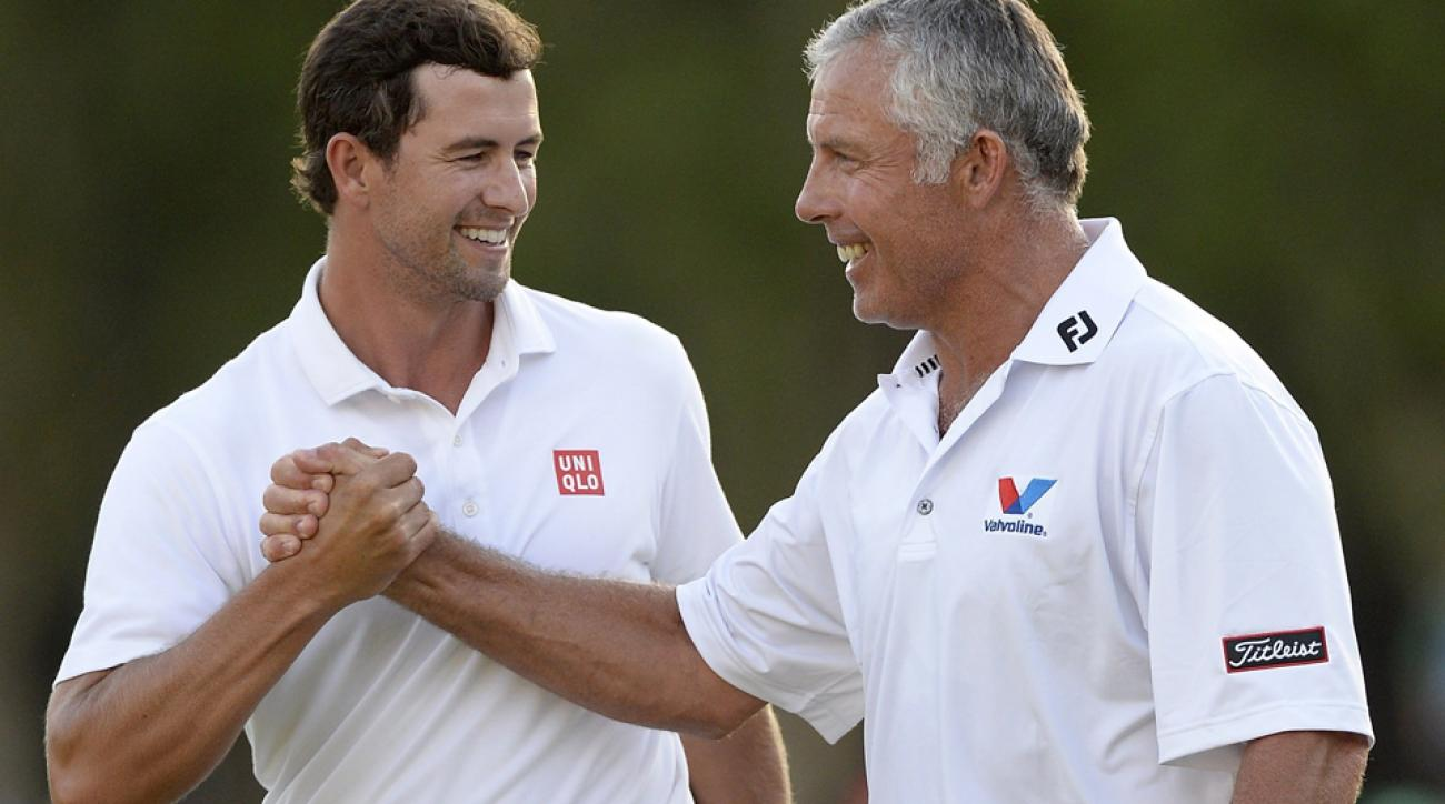 Adam Scott and Steve Williams reunited for the final two majors of this season.