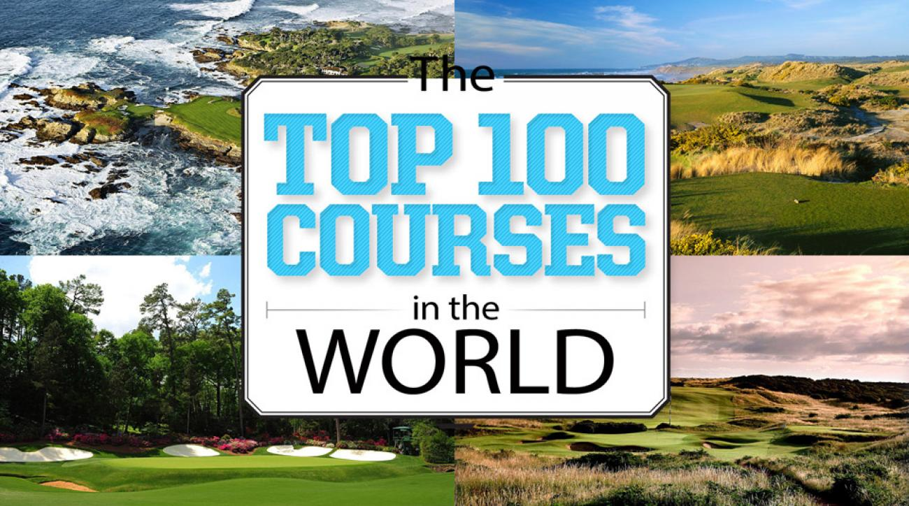 Intravelreport great golf magazine have announced 100 for Top 100 hotels