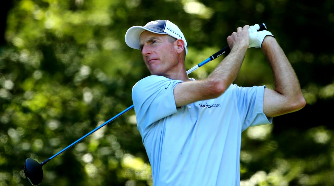 Jim Furyk shot a 59 during the BMW Championship at Conway Farms two years ago,